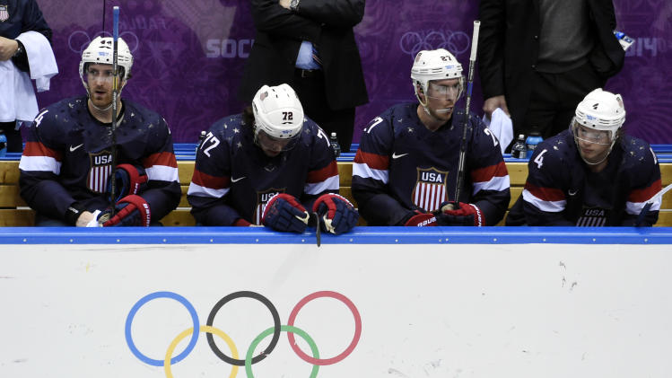 Olympics: Ice Hockey-Men's Bronze Medal Game