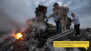 MH17: When it Lost Contact and Crashed
