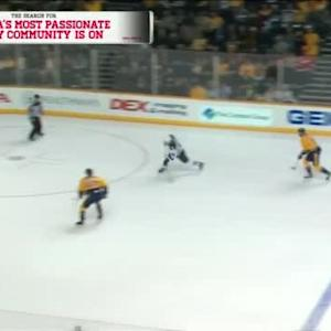 Pekka Rinne Save on Sean Bergenheim (09:22/1st)