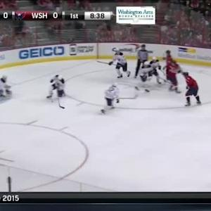 Jhonas Enroth Save on Alex Ovechkin (11:26/1st)