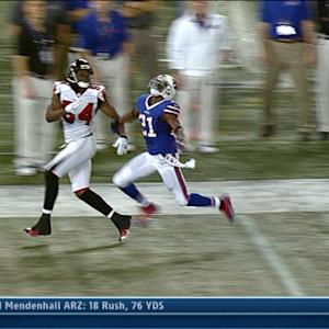 Atlanta Falcons wide receiver Roddy White 29-yard reception