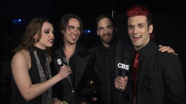 Halestorm - Backstage Thank You