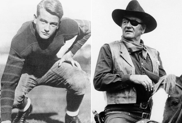 john wayne football