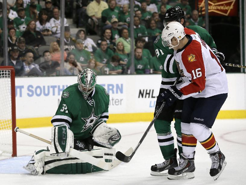 Barkov, Panthers spoil debut of Stars' Ruff 4-2