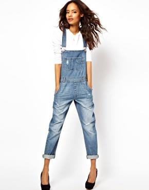 ASOS Vintage Wash Dungaree