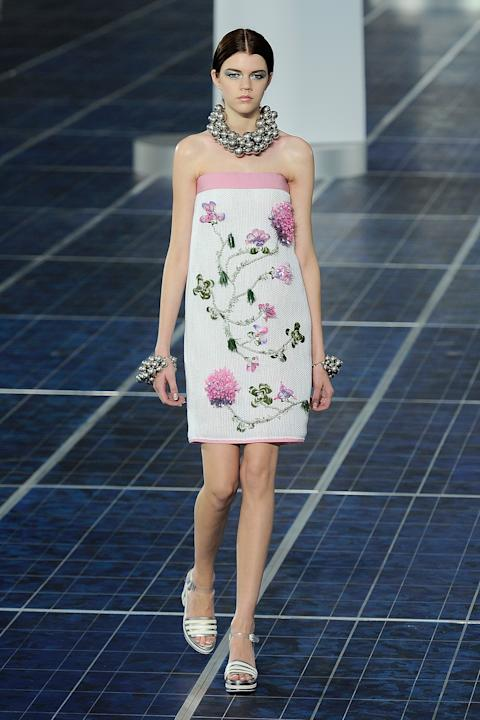 Défilé Chanel collection printemps/été 2013.