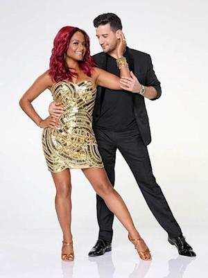 Christina Milian with Mark Ballas -- ABC