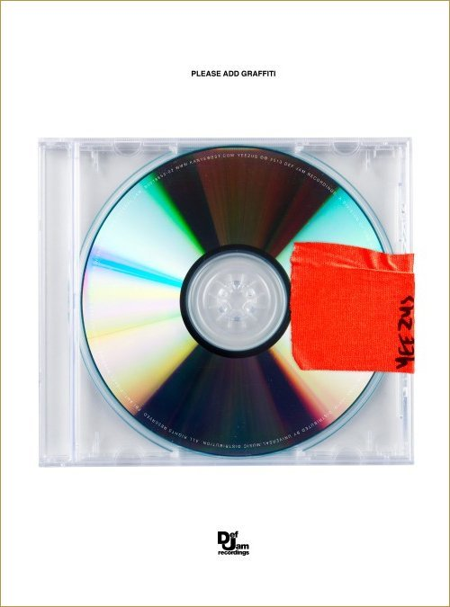 kanye west yeezus cover official?
