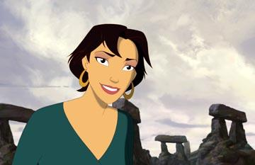 Marina ( Catherine Zeta-Jones ) in DreamWorks' Sinbad: Legend of the Seven Seas