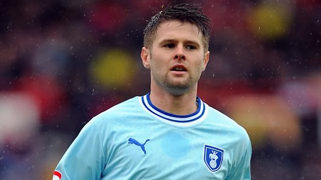 Oliver Norwood, playing on loan at Coventry City in April 2012 (PA Photos)