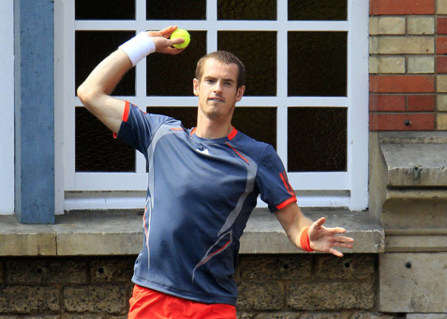 Britain's Player Andy Murray Plays AFP/Getty Images