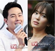Jo In Sung and Song Hye Kyo