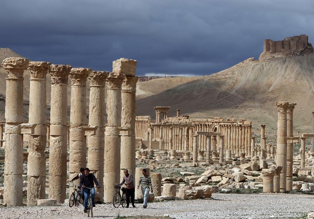 War ravages Syria heritage sites