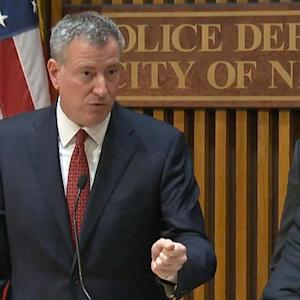 Protesters ignore NYC mayor's plea to suspend demonstrations