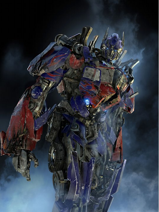 Transformers: Revenge of the Fallen Production Stills Paramount 2009 Optimus Prime Most Anticipated