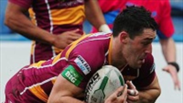 Joe Wardle scored one of Huddersfield's four tries