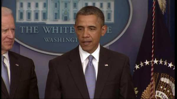 President Obama comments on House passage of fiscal cliff bill