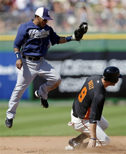 Scutaro shows off dare and dash, Giants top Padres
