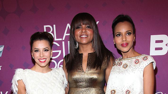 Eva Longoria, Taraji P. Henson, Kerry Washington