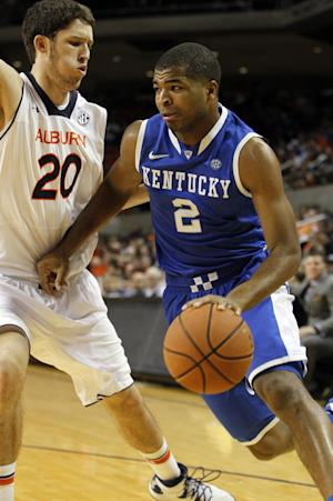 Kentucky pulls away from Auburn in 64-56 win