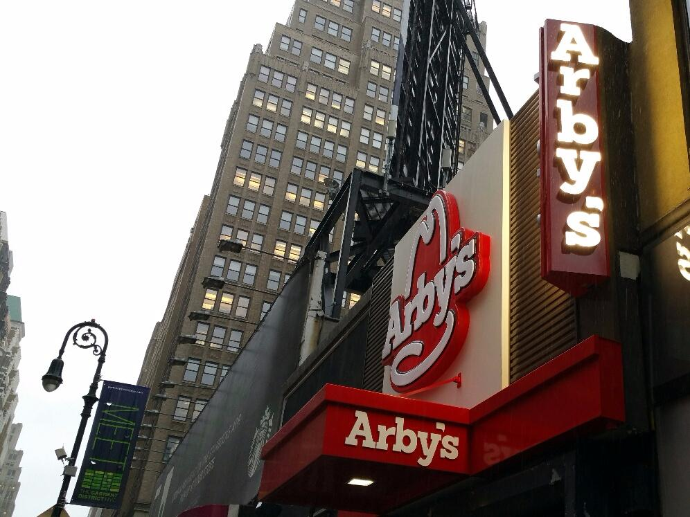 The first Arby's in Manhattan in 7 years will be 'different than you remember'
