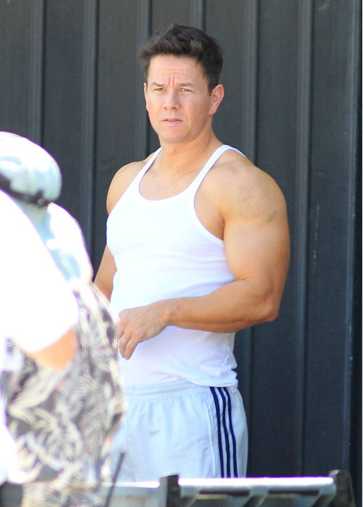 Mark Wahlberg films a chase scene for 'Pain and Gain' filmingMiami, Florida - 02.04.12 Mandatory Credit:WENN.com