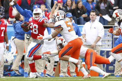 2014 Heart of Dallas Bowl final score: Louisiana Tech beats Illinois, 35-18