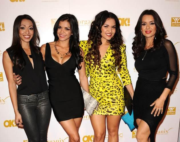 Presley Hernandez, Tiara Hernandez, Tahiti Hernandez and Jaime Kailani of The Lylas attends OK! Magazine's pre-Grammy event at Sound in Hollywood on February 7, 2013  -- Getty Premium