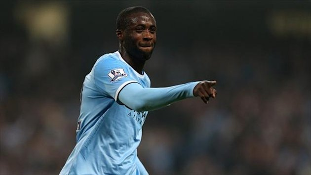 Yaya Toure hit his fifth goal of the season for Manchester City