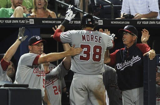 Morse's HR in 8th lifts Nationals past Braves 5-4