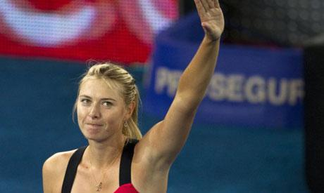 Tennis: Sharapova dominates on return from injury in Brisbane