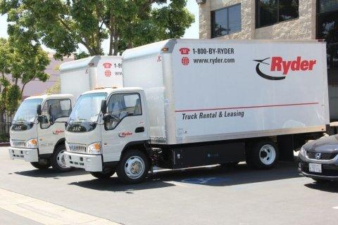 Ryder Takes Delivery of First Light and Medium Duty Natural Gas Vehicles