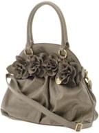 Big Buddha flower handbag, $90.00.