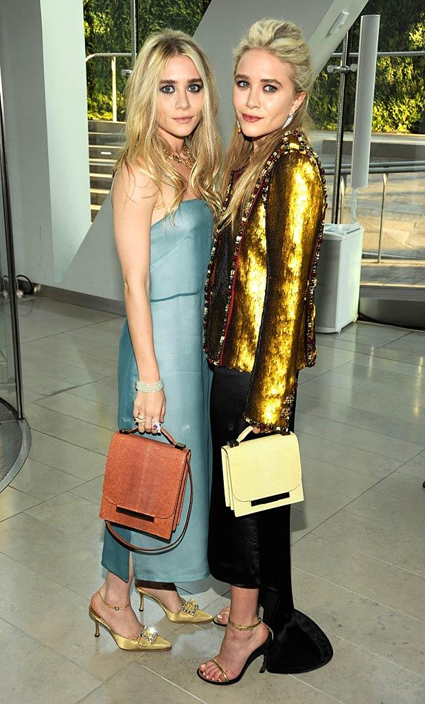Ashley Mary Kate Olsen CFDA Awards
