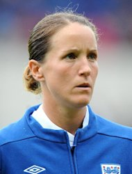 Casey Stoney has won 103 caps for England
