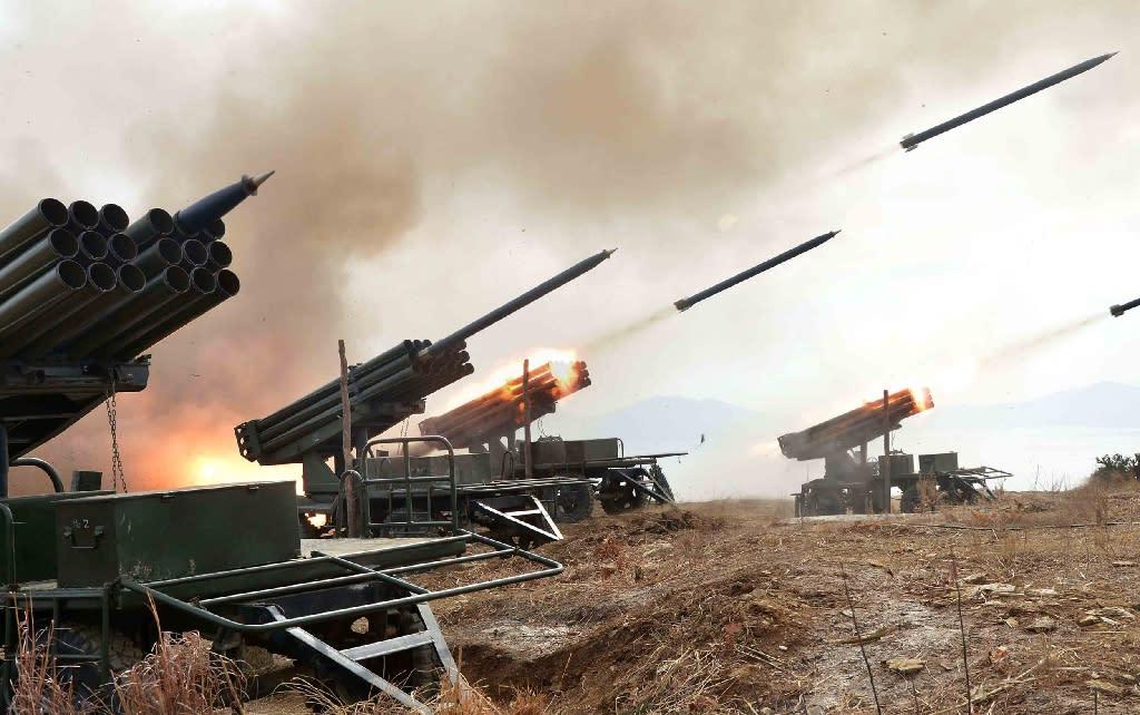 N. Korea vows 'merciless strikes' as US-S. Korea drills begin