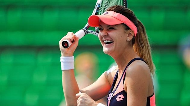 Agnieszka Radwanska wins the Korea Open