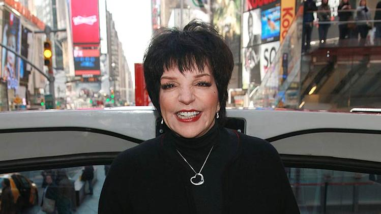 Liza Minnelli Ride Hall Of Fame