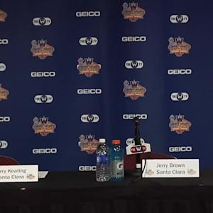 WCC Championship Round One Press Conference - Pacific and Santa Clara Men