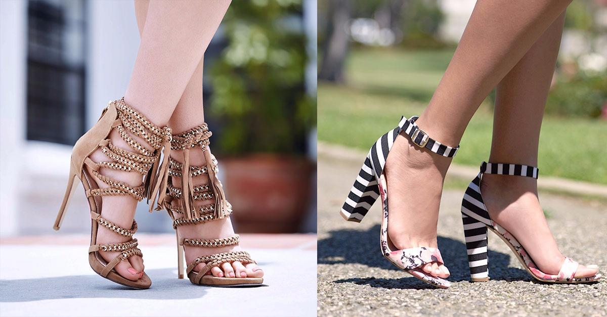 Sandals and heels that are crushing it this season