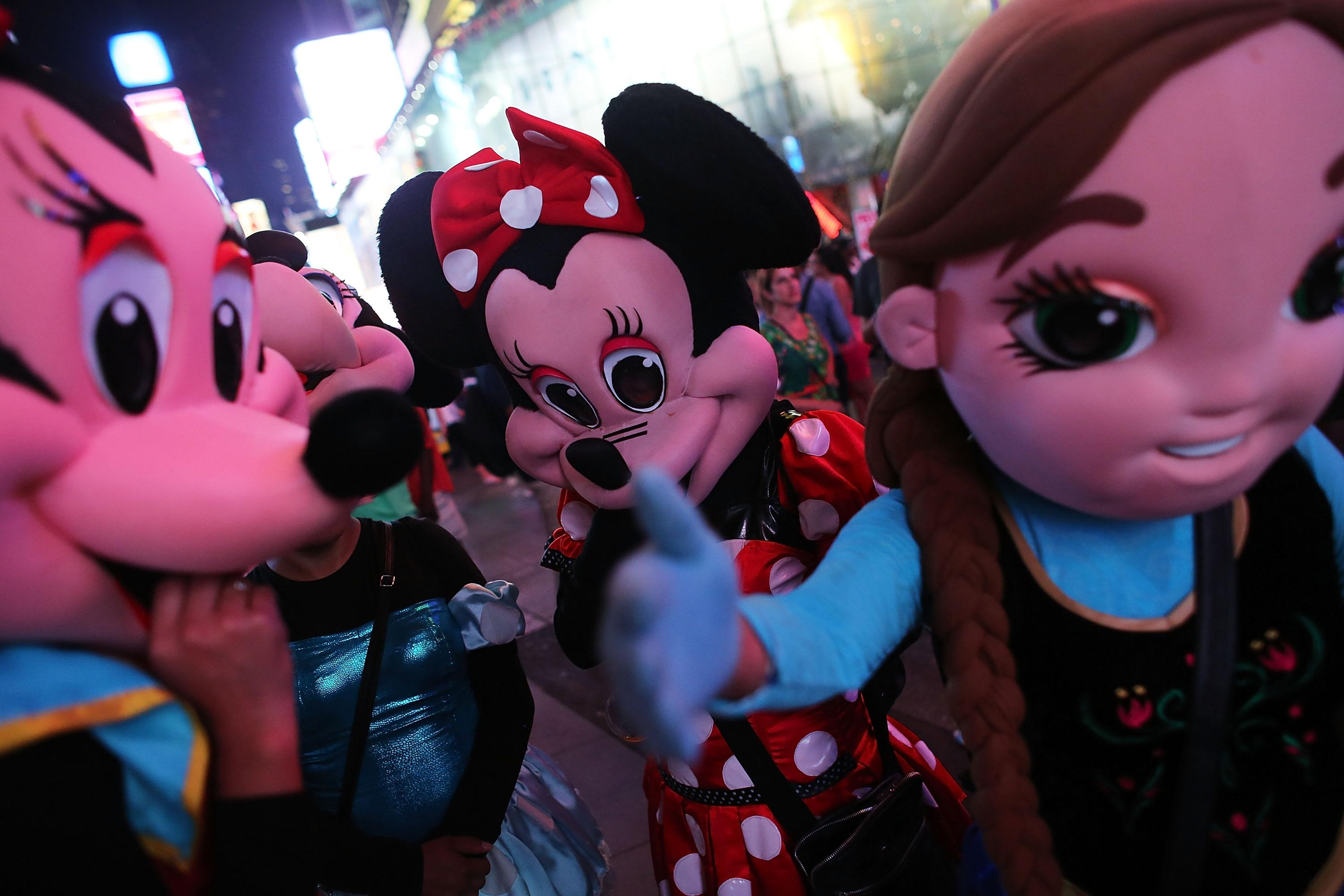 NYPD to Disney: Help get your mouse out of our house