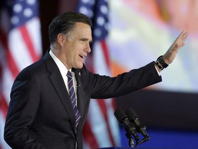 Romney concedes, talks about challenges ahead