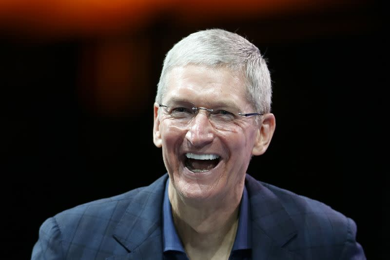 Apple's Cook makes 'substantial' donation for gay rights in U.S. South
