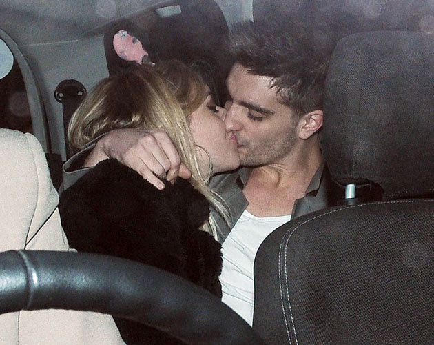 The Wanted Tom Parker and His Girlfriend