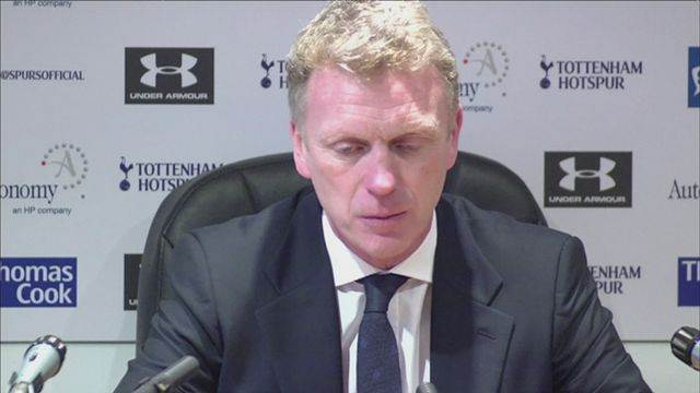 David Moyes reflects on 2-2 draw with Spurs [AMBIENT]