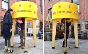 10 Tiny Libraries Installed Around New York City Streets