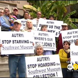 Southwest Museum Supporters Protest Autry Over Handling Of American Indian Artifacts