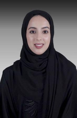 Western-educated Shama al-Mazroui, 22, who was made UAE's state minister for youth affairs, is seen in this undated handout photo