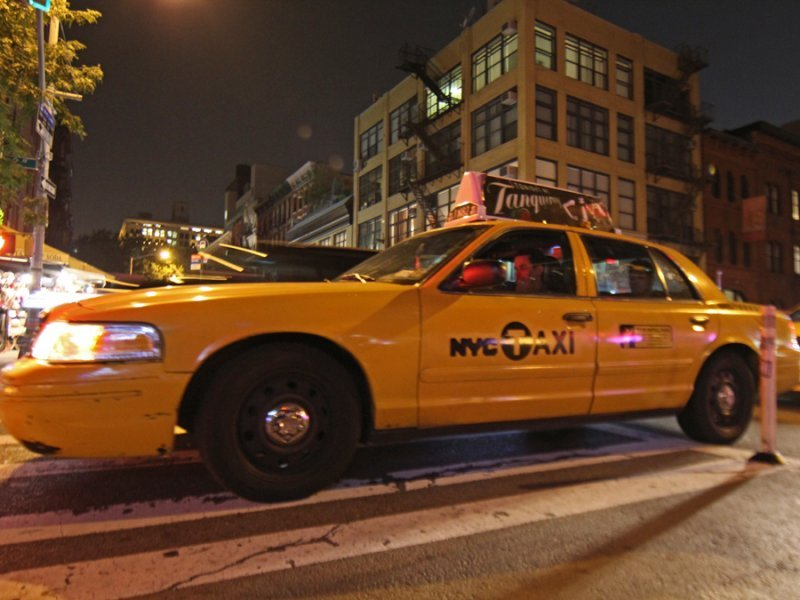taxi, nyc taxi, night, night shot, movement, wider, nyc, sept 2011, business insider, dng