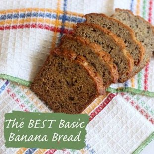 This super easy bread will have your family going bananas over it!